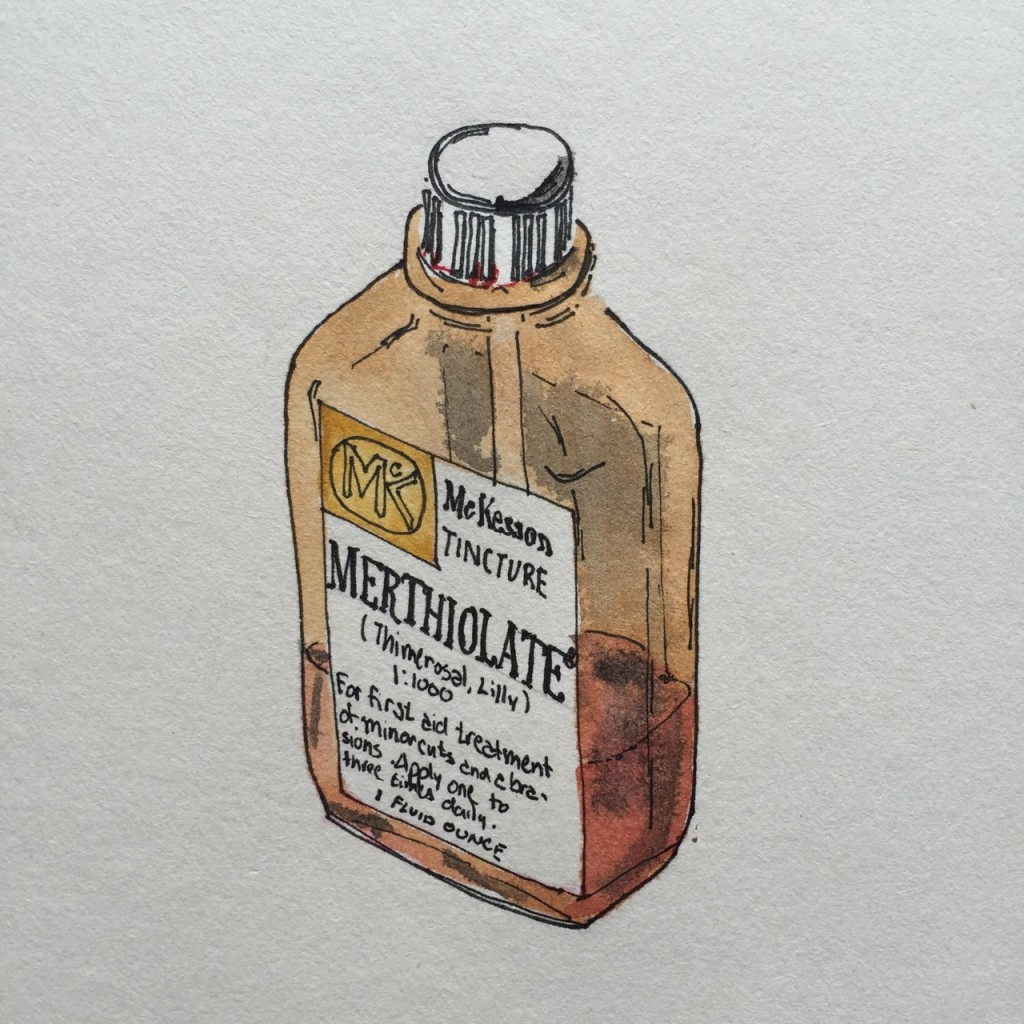 Study for McKesson Merthiolate