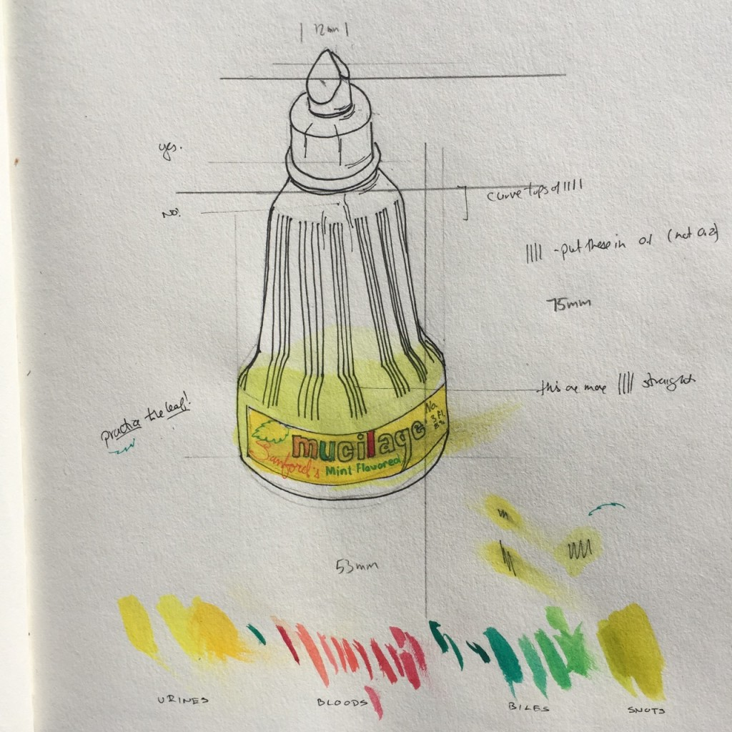 Study for Mucilage