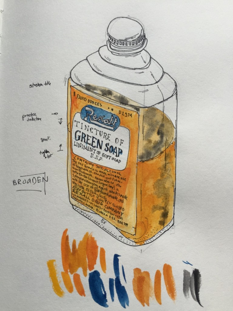 Study for Rexall Tincture of Green Soap
